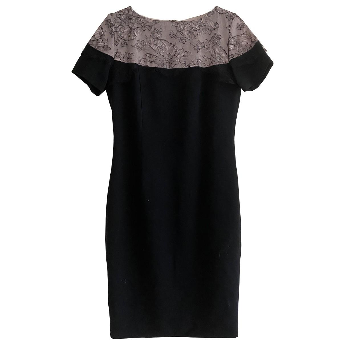 Thomas Rath - Robe   pour femme en laine - noir