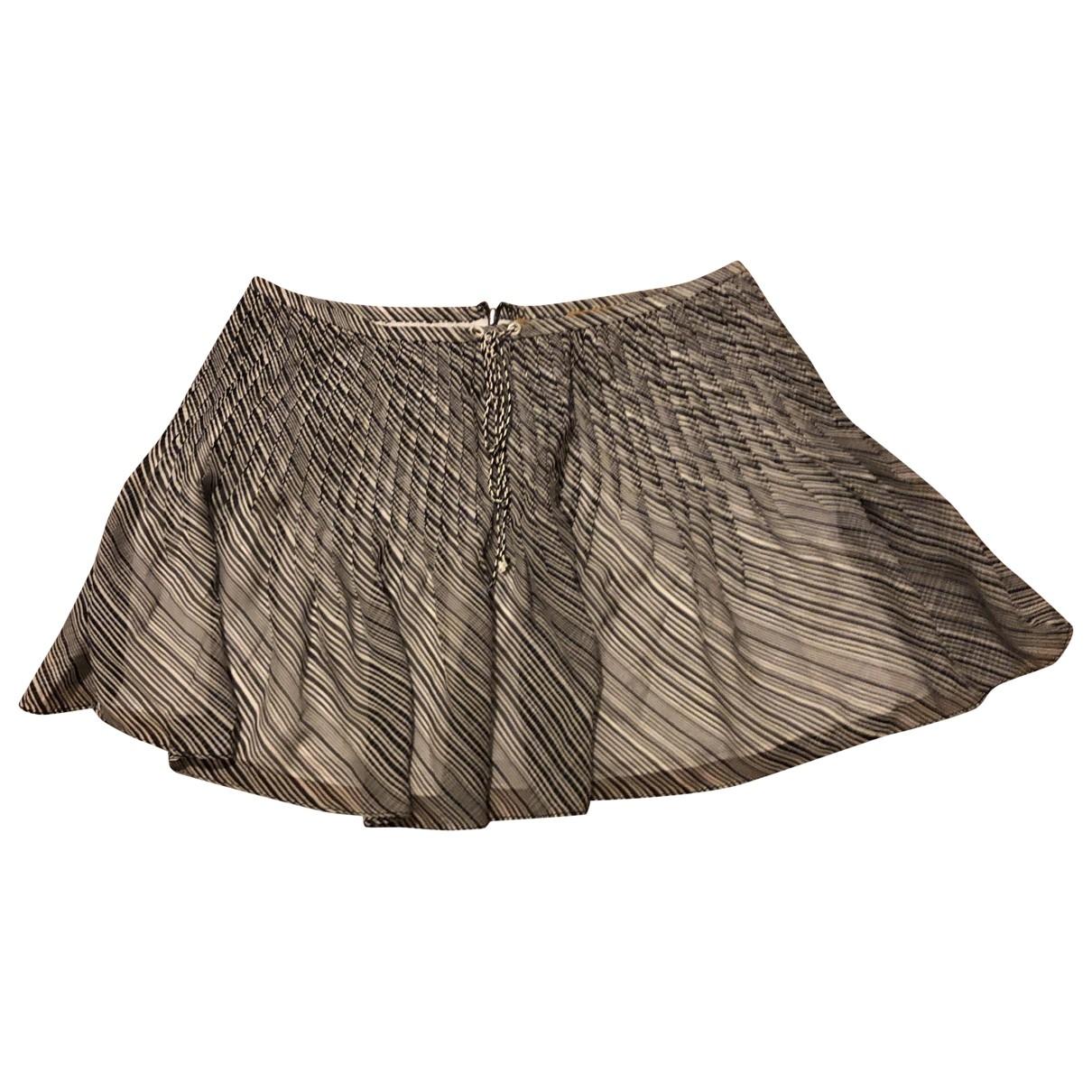 Mini falda de Seda Hanley
