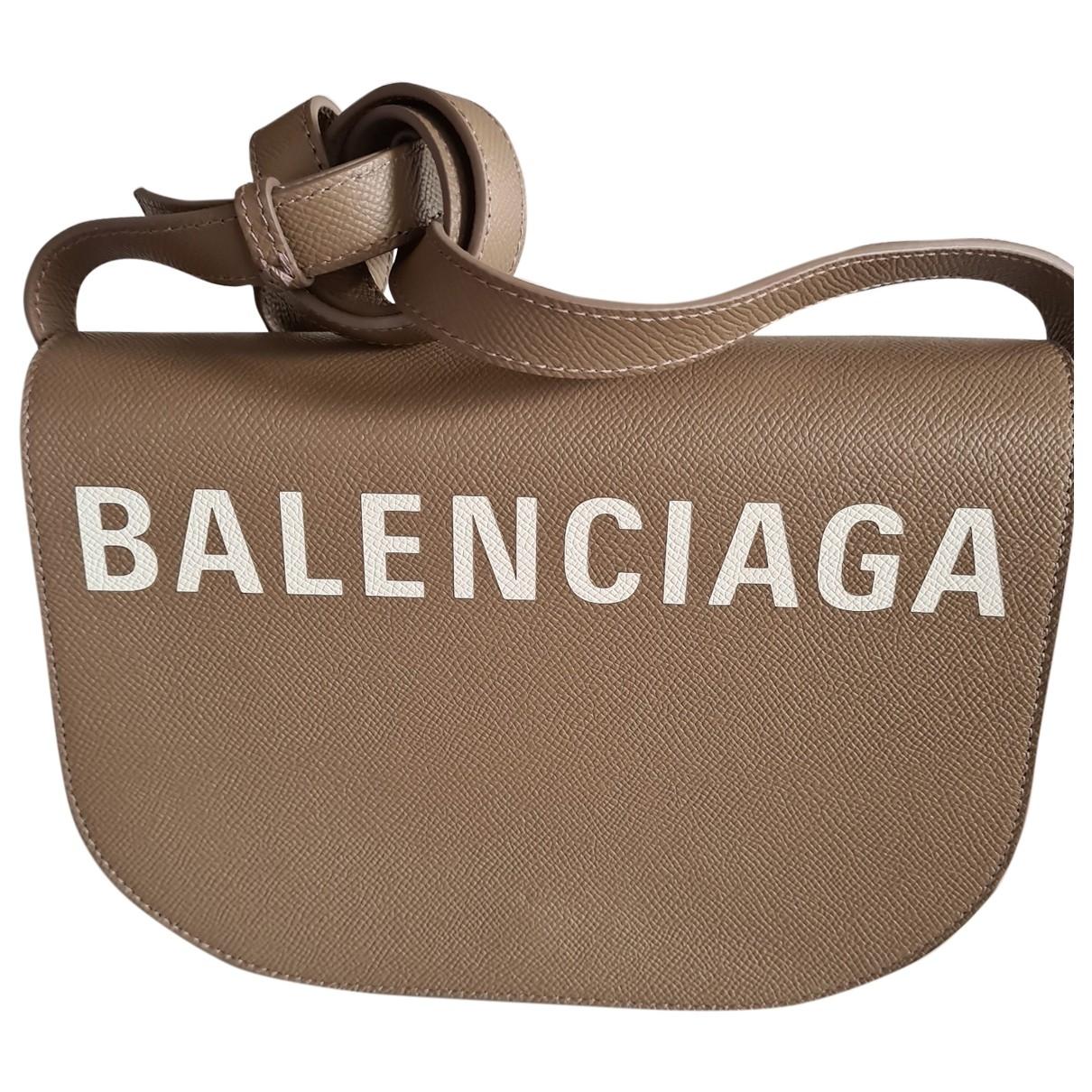 Balenciaga \N Handtasche in Leder