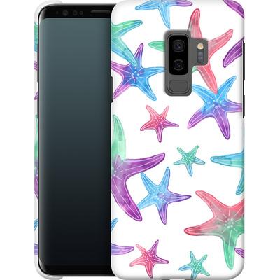 Samsung Galaxy S9 Plus Smartphone Huelle - Starfish Print von Becky Starsmore