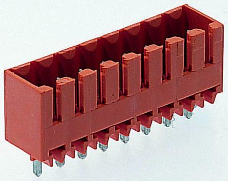 Weidmüller , OMNIMATE SL, 16 Way, 1 Row, Straight PCB Header (5)