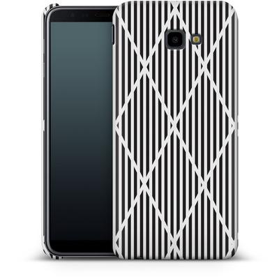 Samsung Galaxy J4 Plus Smartphone Huelle - Black Diamonds von caseable Designs