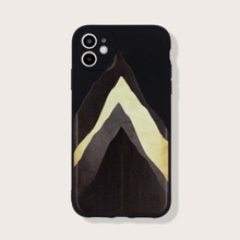 Funda de iphone con estampado de montaña