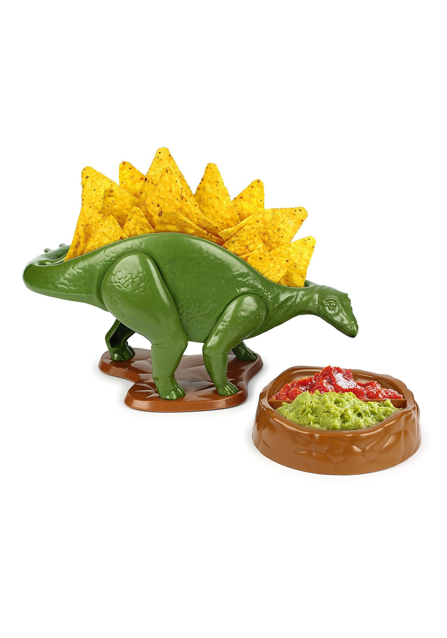 Nachosaurus Chip and Dip Serving Snack Set