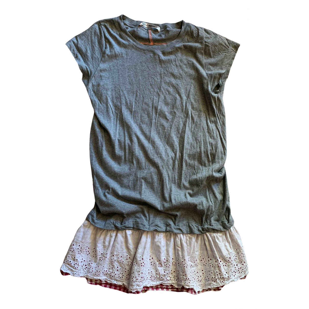 Golden Goose \N Kleid in  Grau Baumwolle