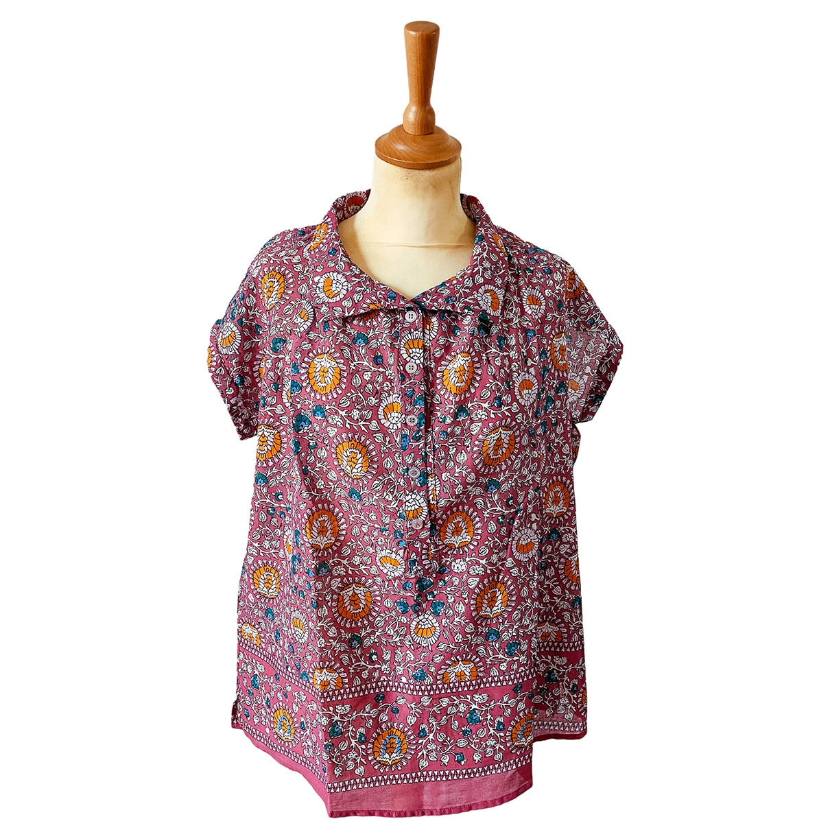Pablo \N Pink Cotton  top for Women 40 FR