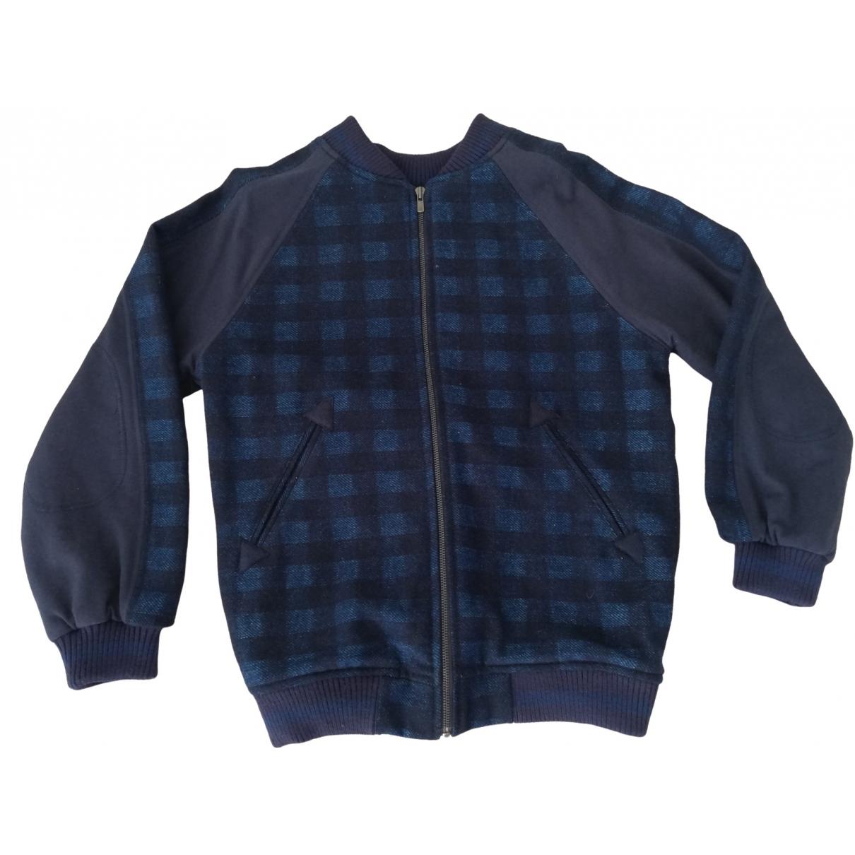 Stella Mccartney Kids \N Blue Cotton jacket & coat for Kids 8 years - up to 128cm FR