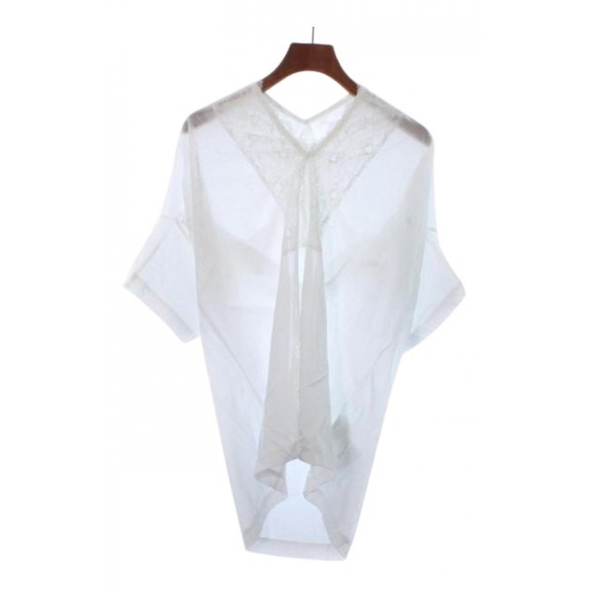 Comme Des Garcons N White Cotton  top for Women S International