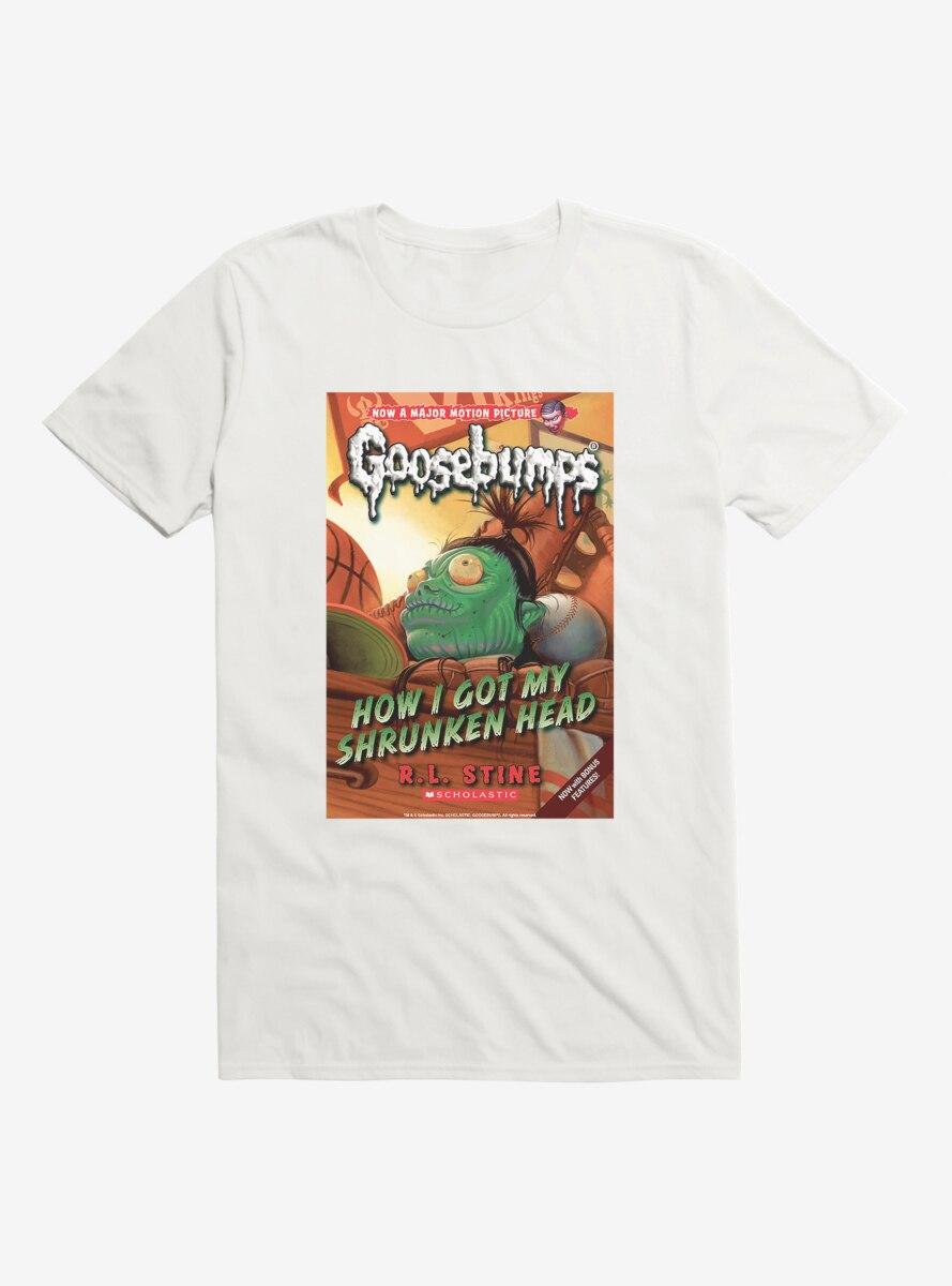 Goosebumps How I Got My Shrunken Head Book T-Shirt
