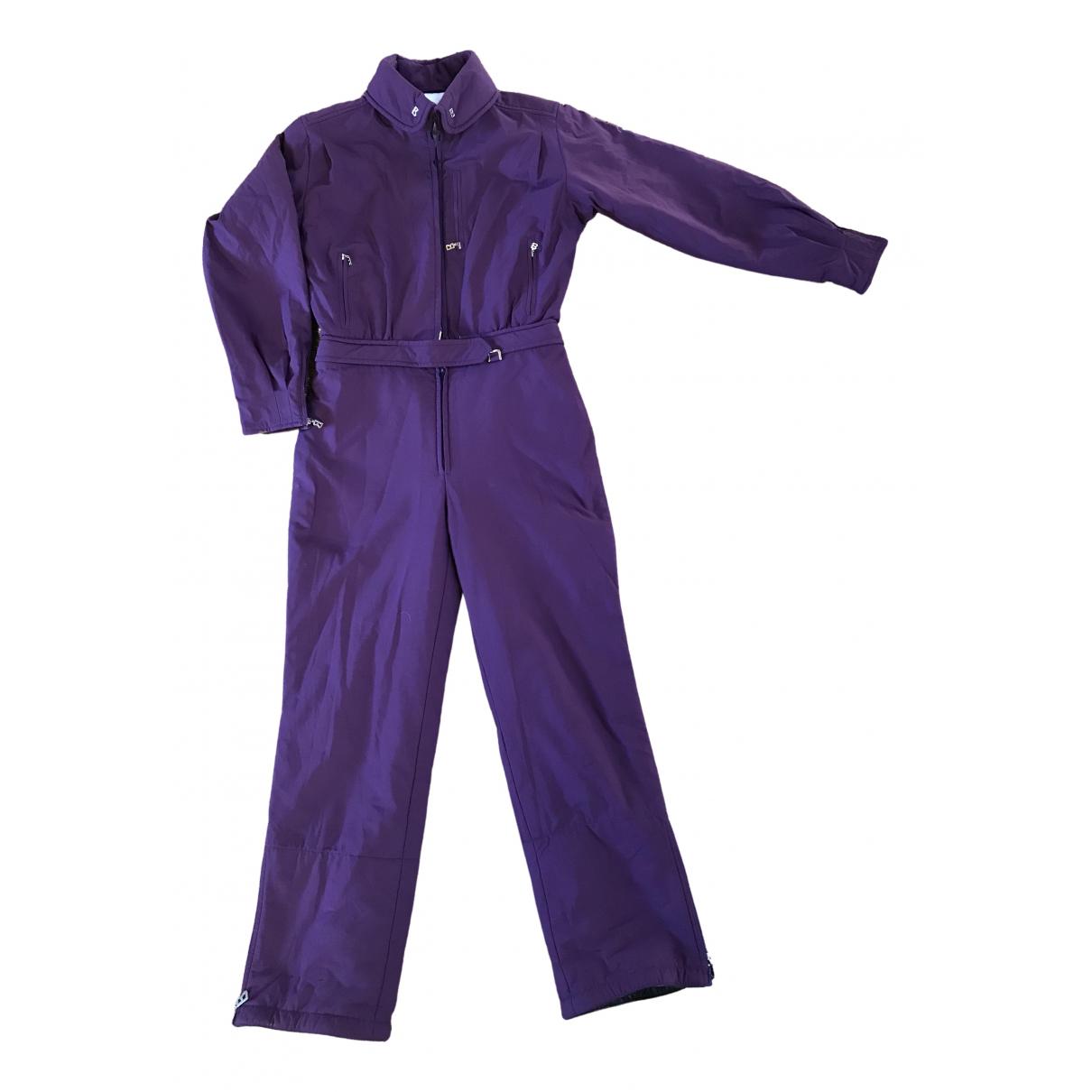 Bogner \N Purple jumpsuit for Women 38 FR
