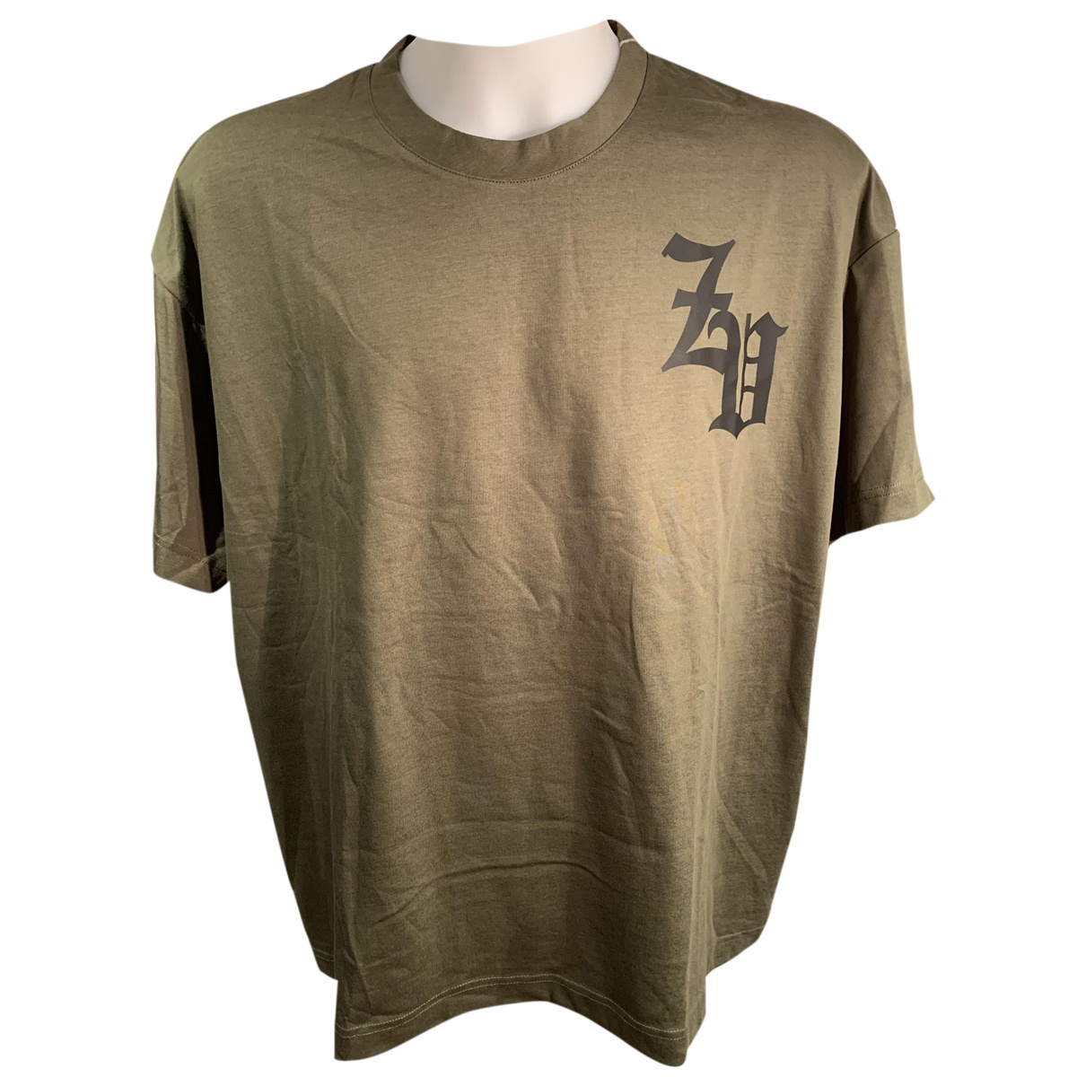 Zadig & Voltaire Spring Summer 2019 Khaki Cotton T-shirts for Men XL International