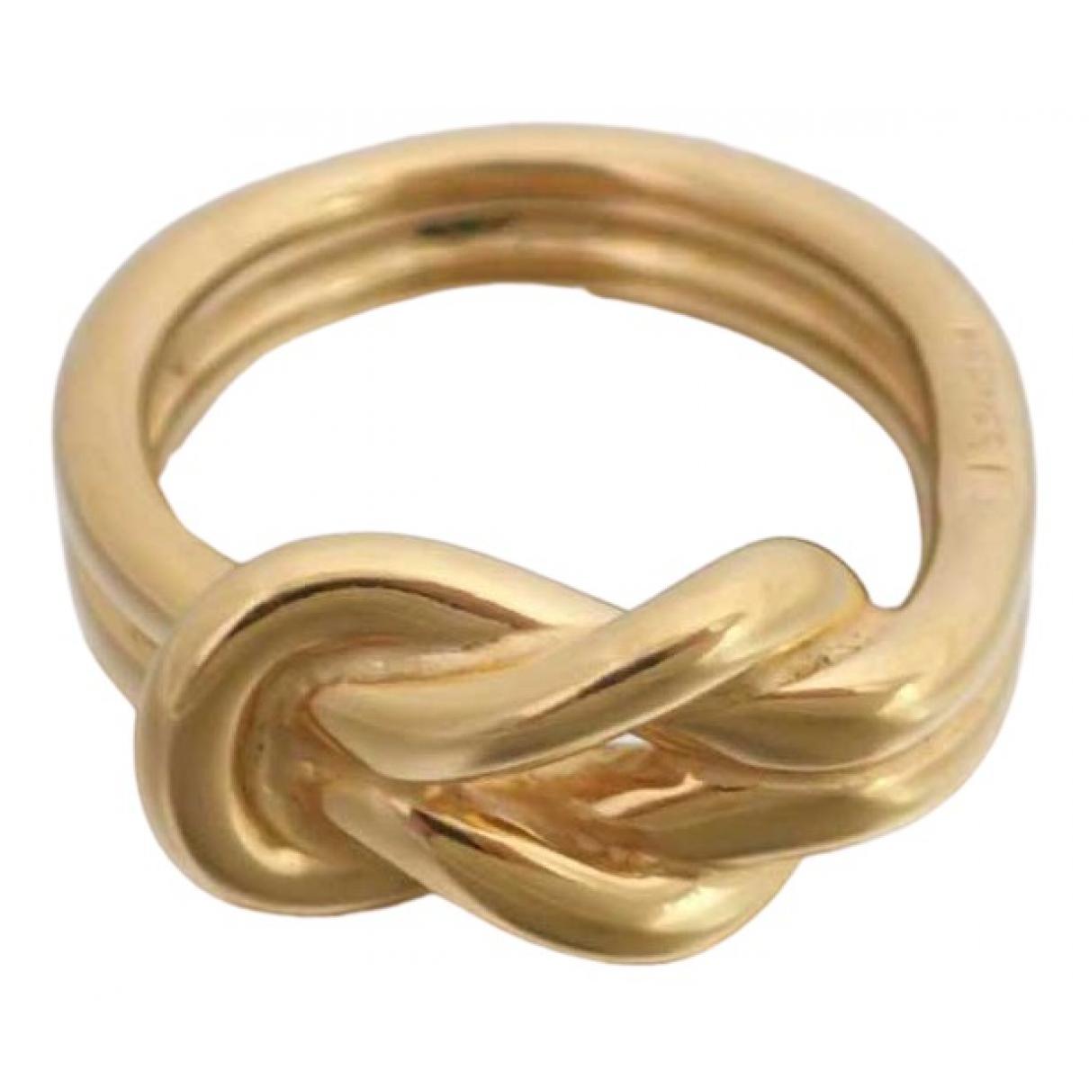 Hermès \N Gold Metal ring for Women 10 ¼ US