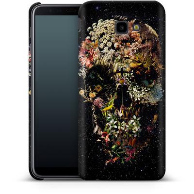 Samsung Galaxy J4 Plus Smartphone Huelle - Smyrna Skull von Ali Gulec