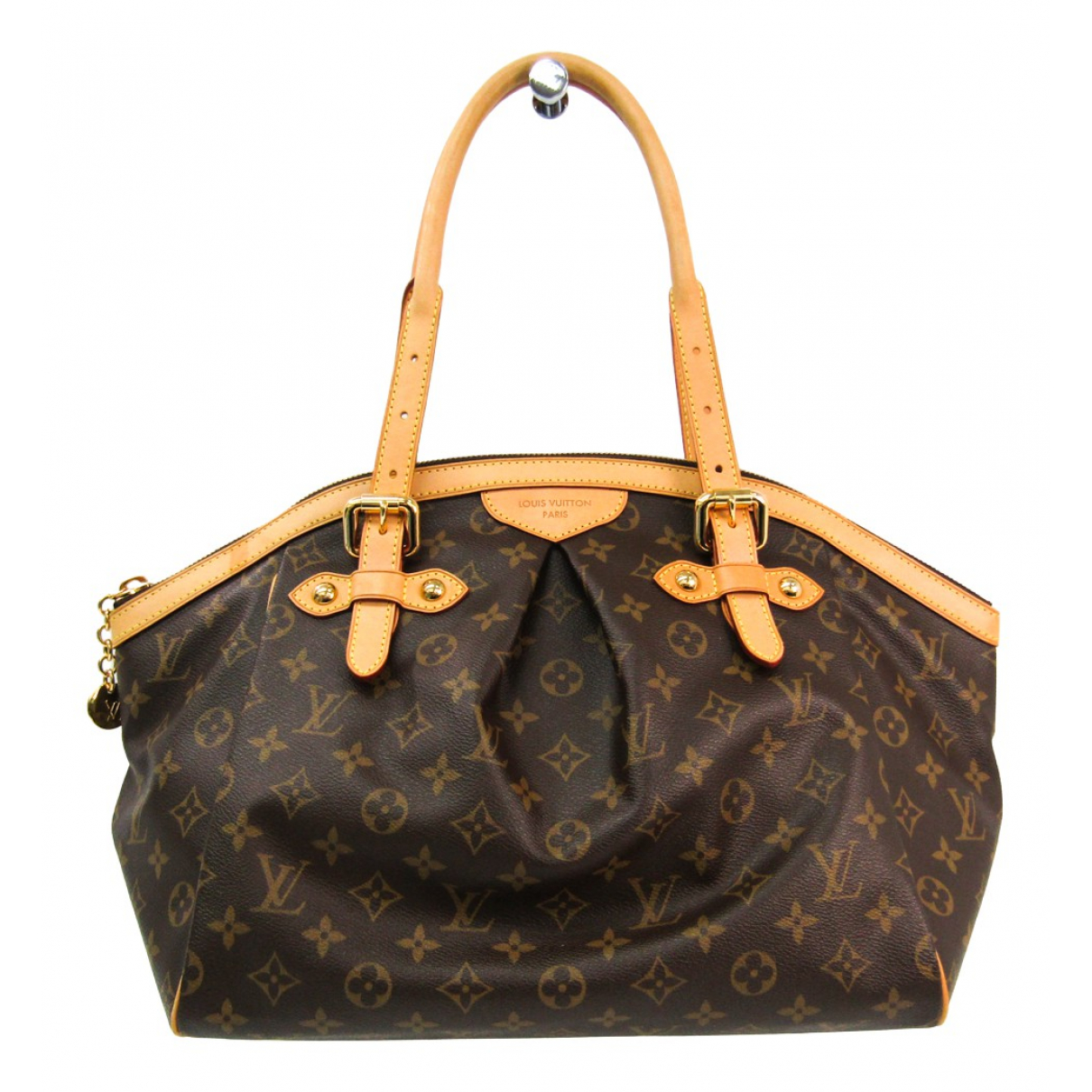 Louis Vuitton Tivoli Brown Cloth handbag for Women N