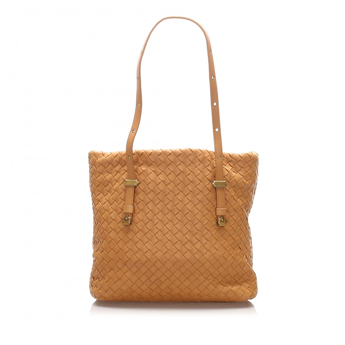 Bottega Veneta \N Brown Leather handbag for Women \N