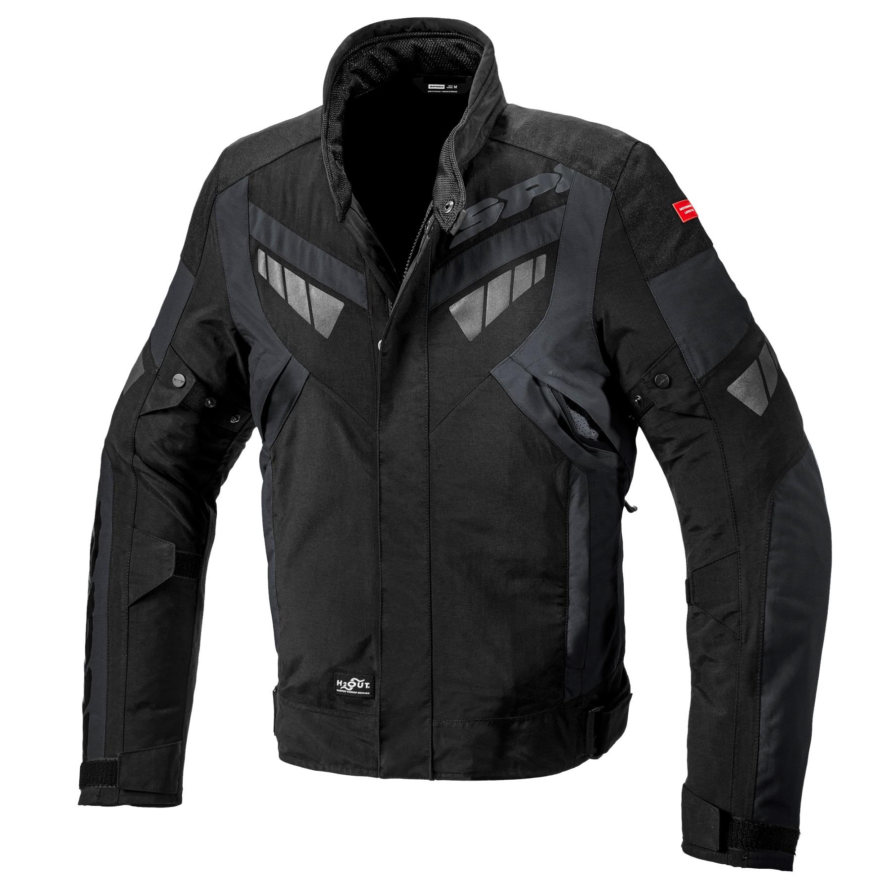 Spidi Freerider Black Slate Motorcycle Jacket L