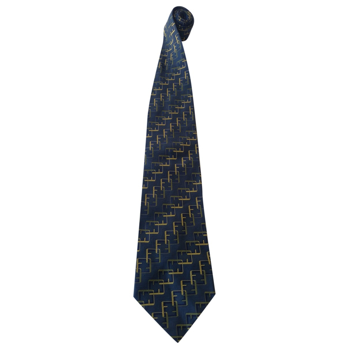Fendi \N Multicolour Silk Ties for Men \N
