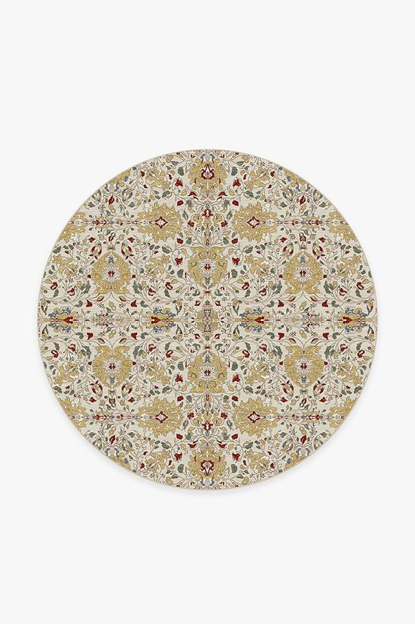 Washable Rug Cover | Marie Natural Rug | Stain-Resistant | Ruggable | 6' Round