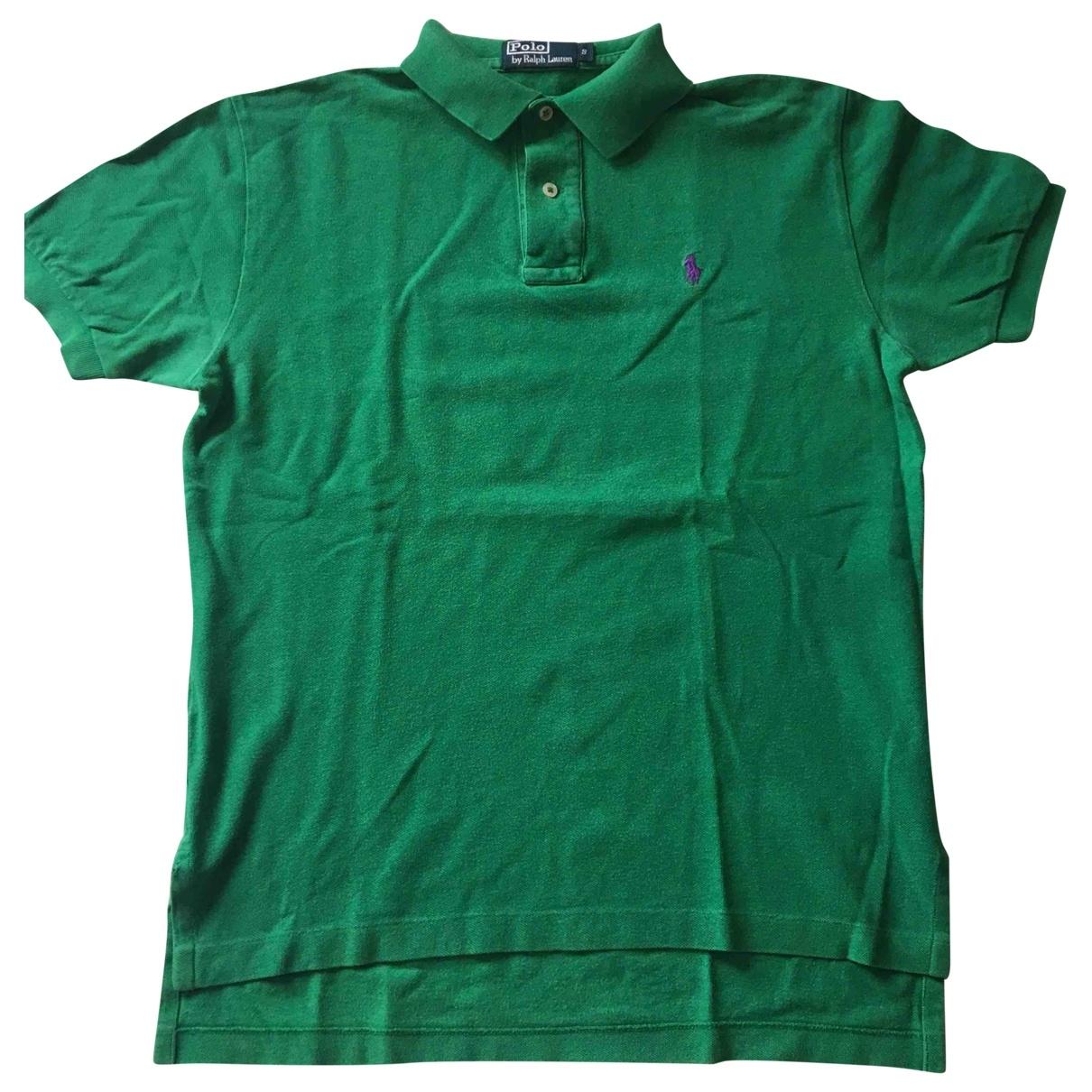 Polo Ralph Lauren \N Green Cotton Polo shirts for Men S International