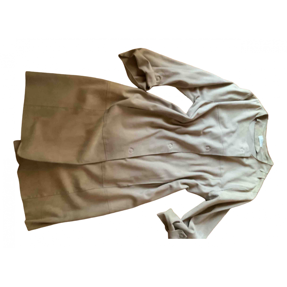 Pablo \N Beige Suede Leather jacket for Women M International