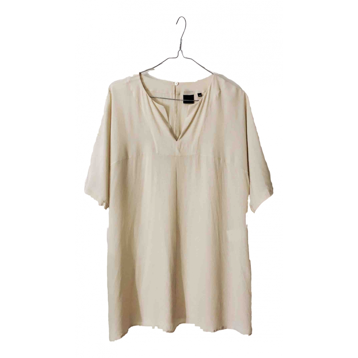 Aspesi \N Beige Silk  top for Women 42 IT