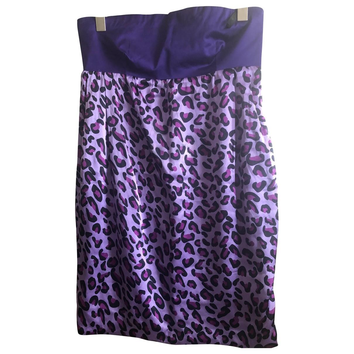 Pinko \N Kleid in  Lila Seide