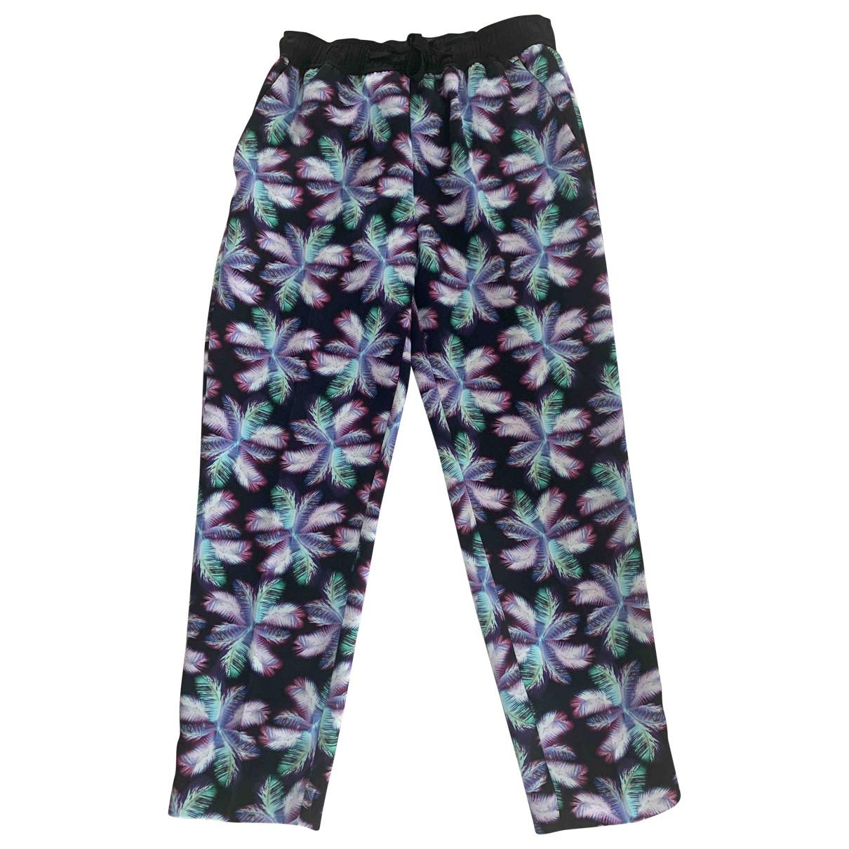Pantalon en Poliester Multicolor Sandro