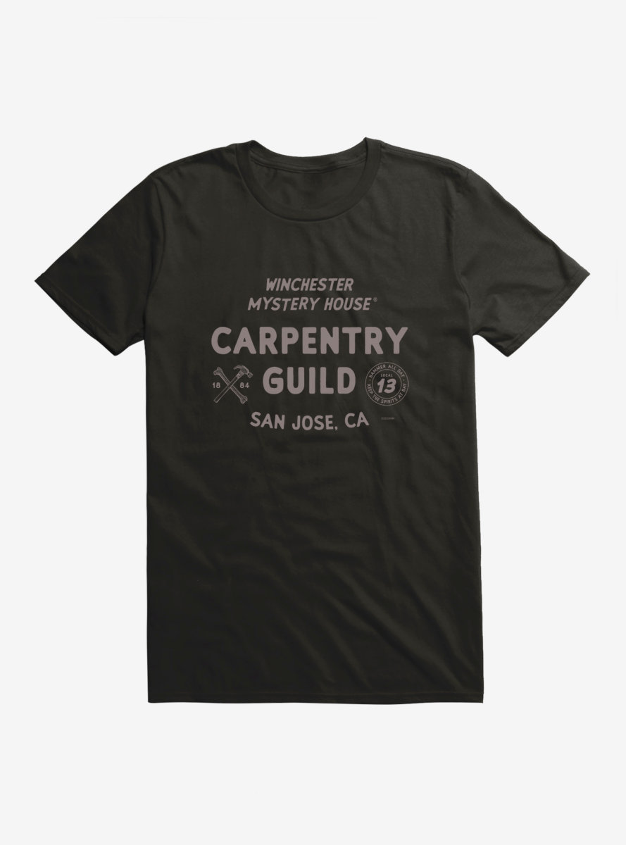 Winchester Mystery House Carpentry Guild T-Shirt