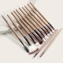12 Stuecke Make-up Augenpinsel Set
