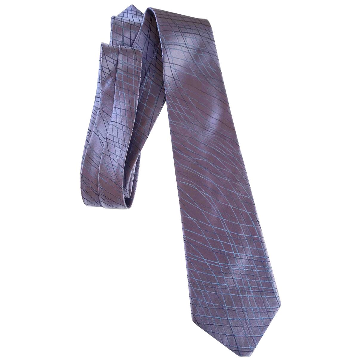 Emporio Armani - Cravates   pour homme en soie - rose