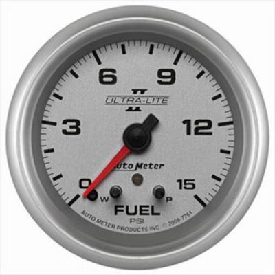 Auto Meter Ultra-Lite II Electric Fuel Pressure Gauge - 7761