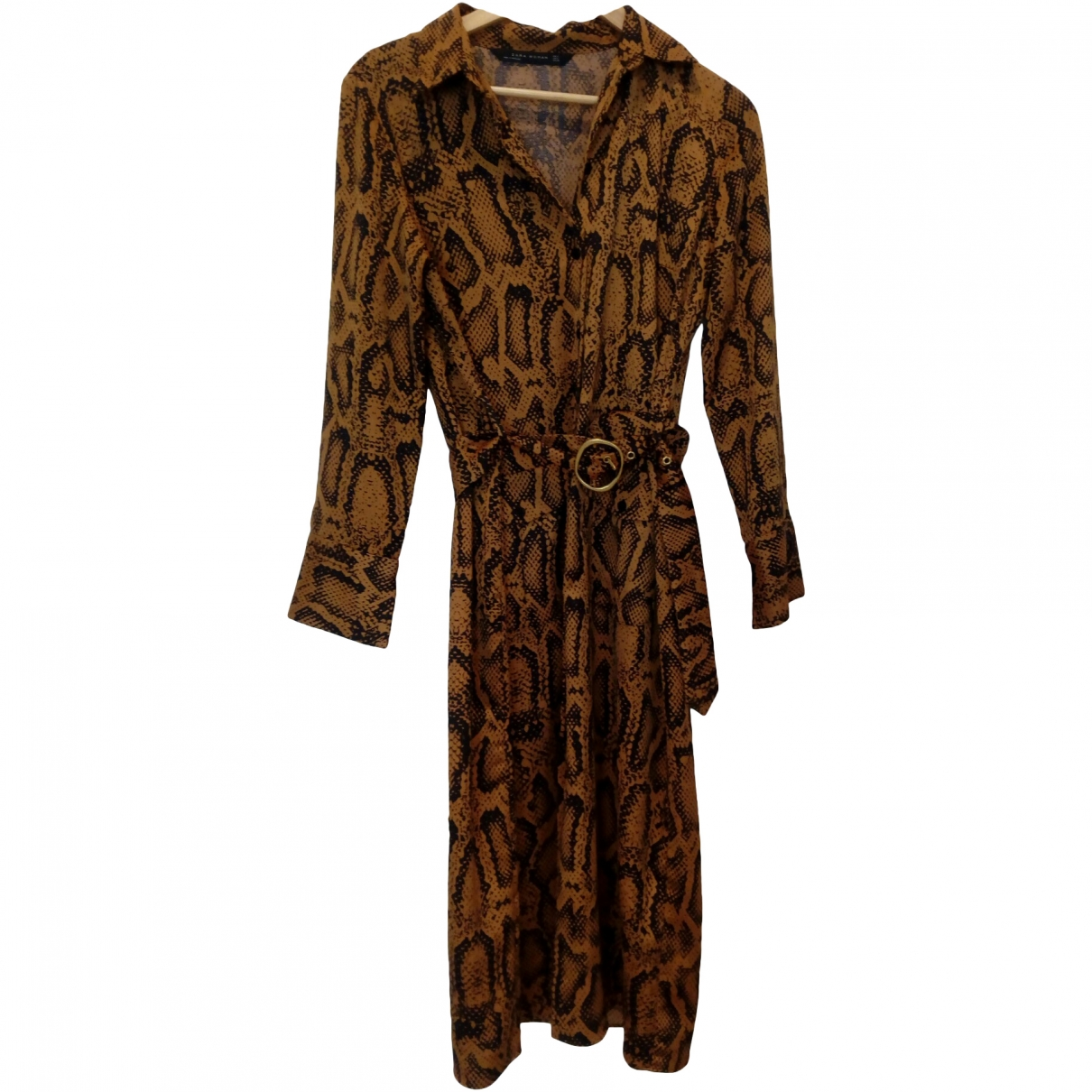 Zara \N Brown dress for Women M International