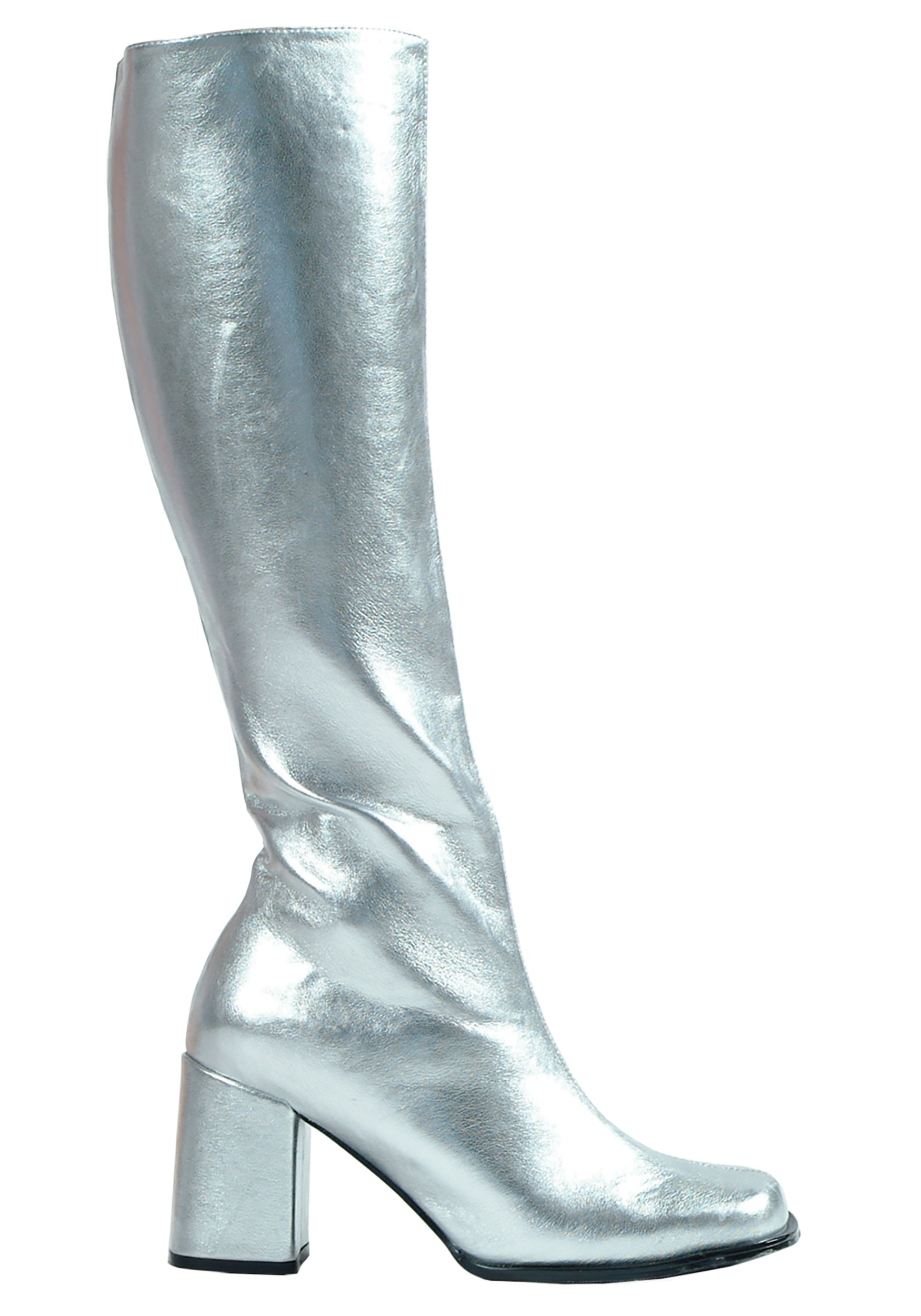 Silver Gogo Boots for Women