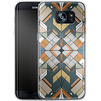 Samsung Galaxy S7 Edge Silikon Handyhuelle - Mosaic I von caseable Designs
