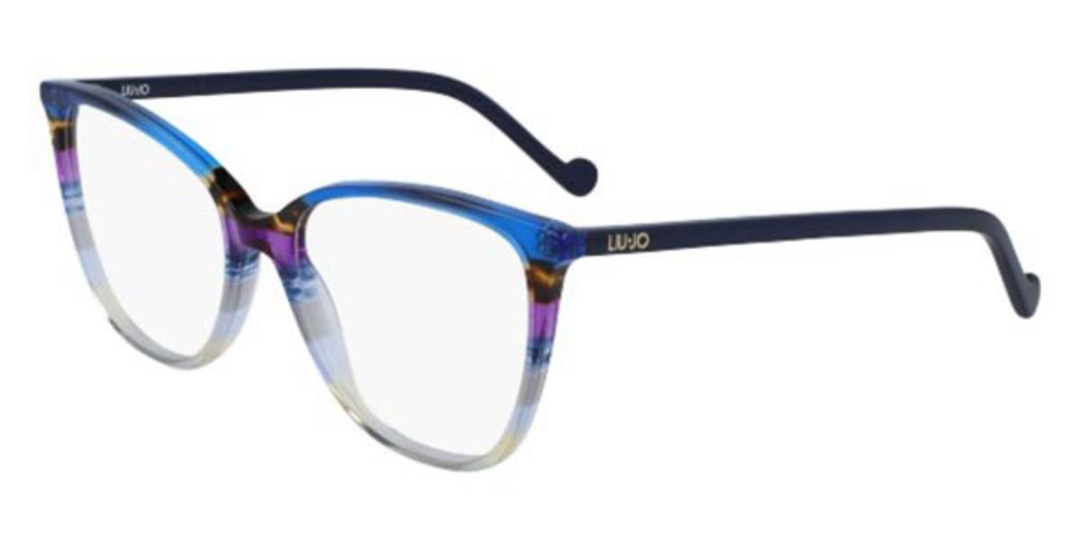 Liu Jo LJ2710 429 Women's Glasses Multicolor Size 54 - Free Lenses - HSA/FSA Insurance - Blue Light Block Available