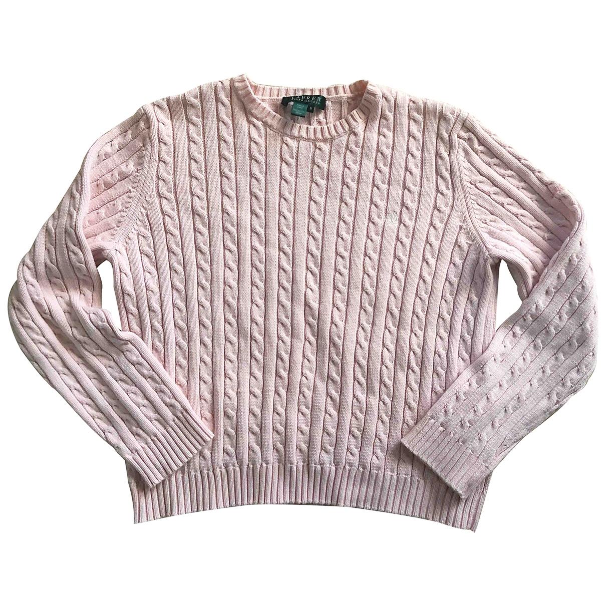 Lauren Ralph Lauren \N Pullover in  Rosa Baumwolle