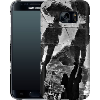 Samsung Galaxy S7 Smartphone Huelle - It Must Be Monday Morning von Ronya Galka