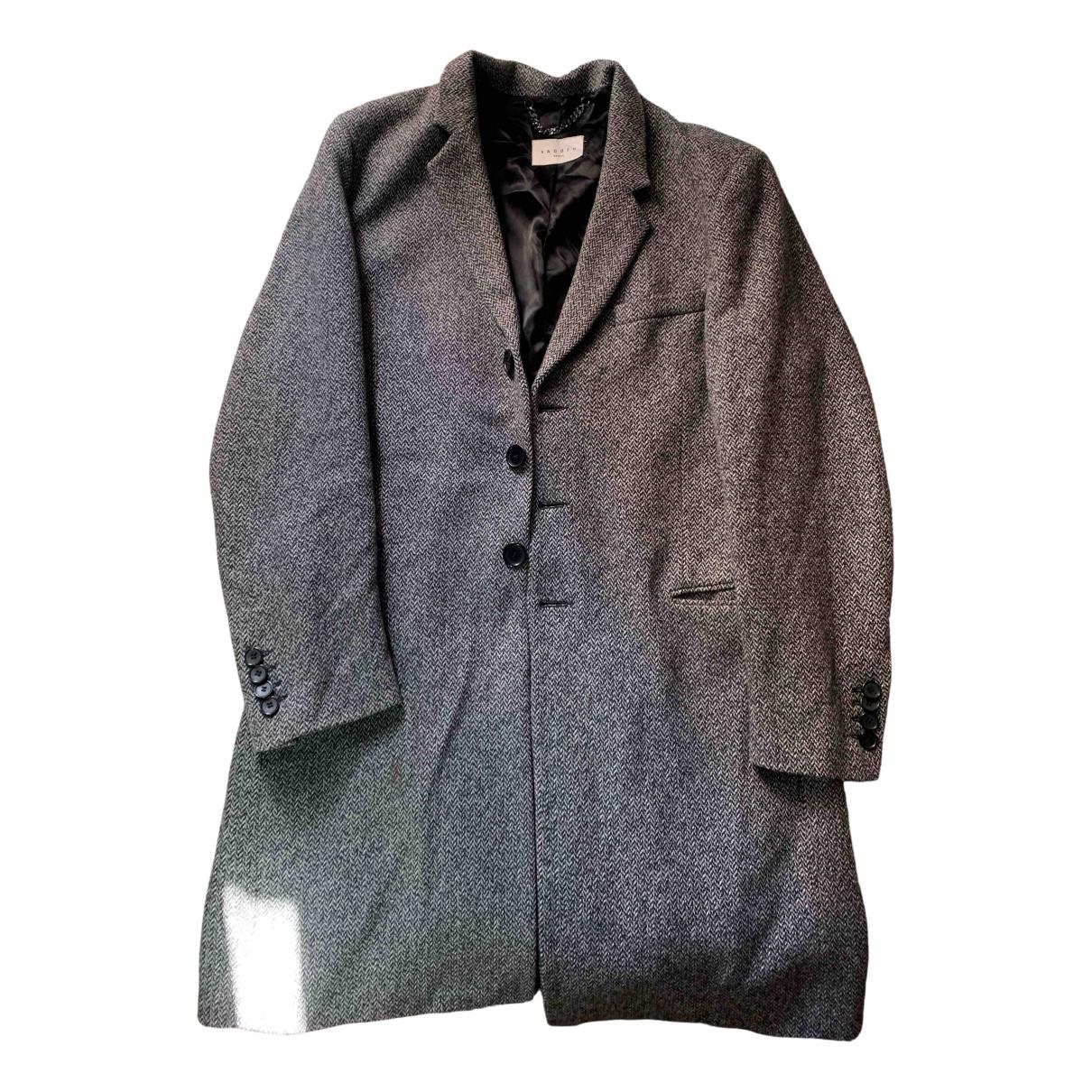 Sandro \N Maentel in  Grau Tweed