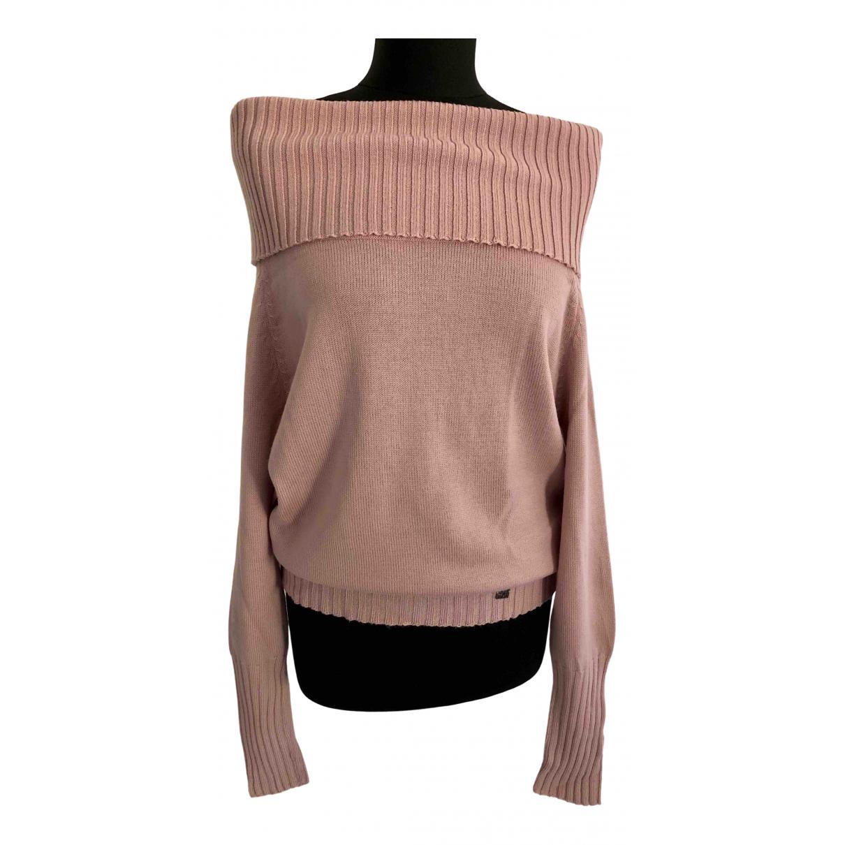 Carolina Herrera - Pull   pour femme en laine - rose