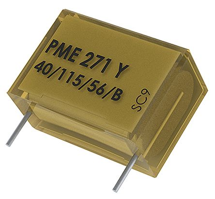KEMET Paper Capacitor 22nF 300V ac ±20% Tolerance PME271 Radial +115°C (10)
