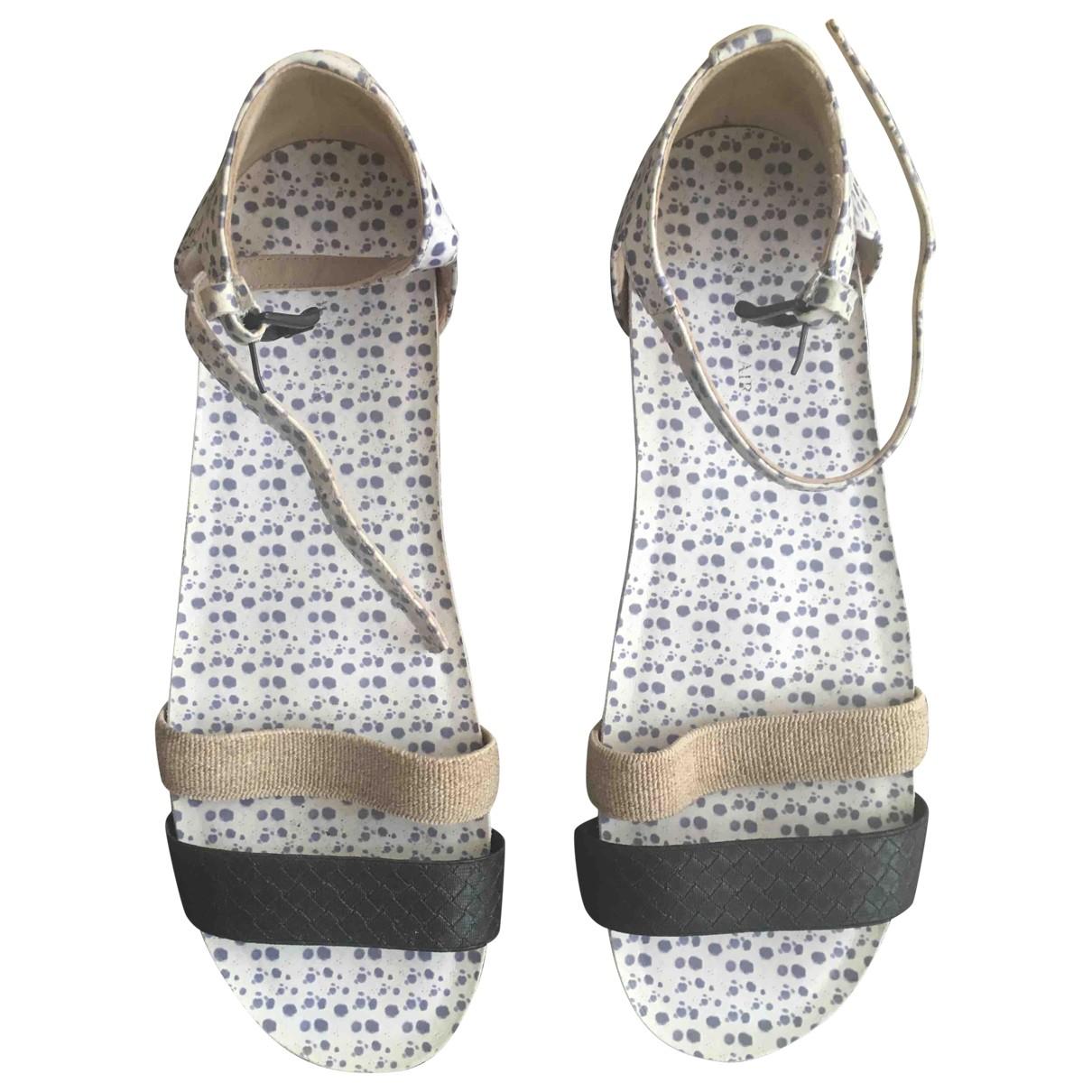 Surface To Air - Sandales   pour femme en cuir - noir
