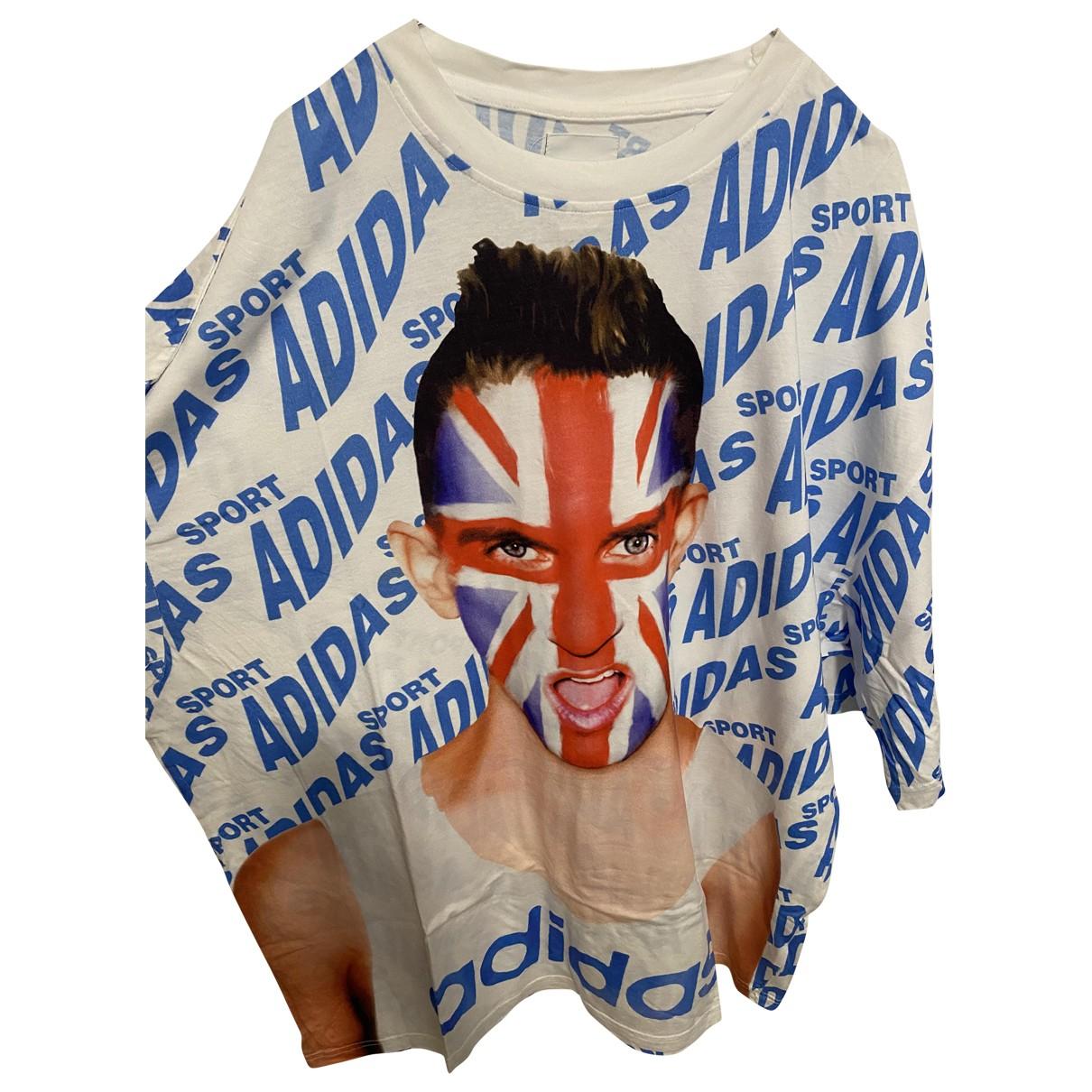 Jeremy Scott Pour Adidas \N T-Shirts in  Weiss Baumwolle