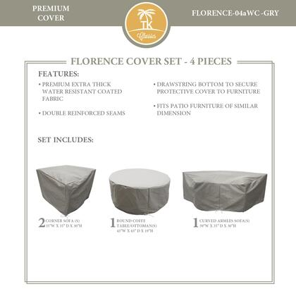 FLORENCE-04aWC-GRY Protective Cover Set  for FLORENCE-04a in