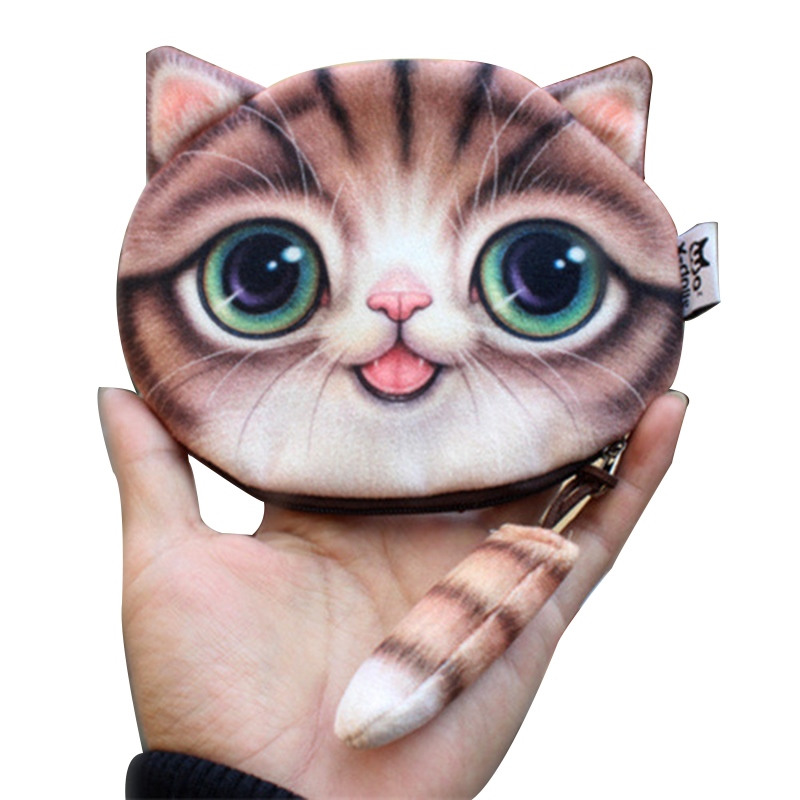 Ericdress 3D Kitty Shape Mini Wallet