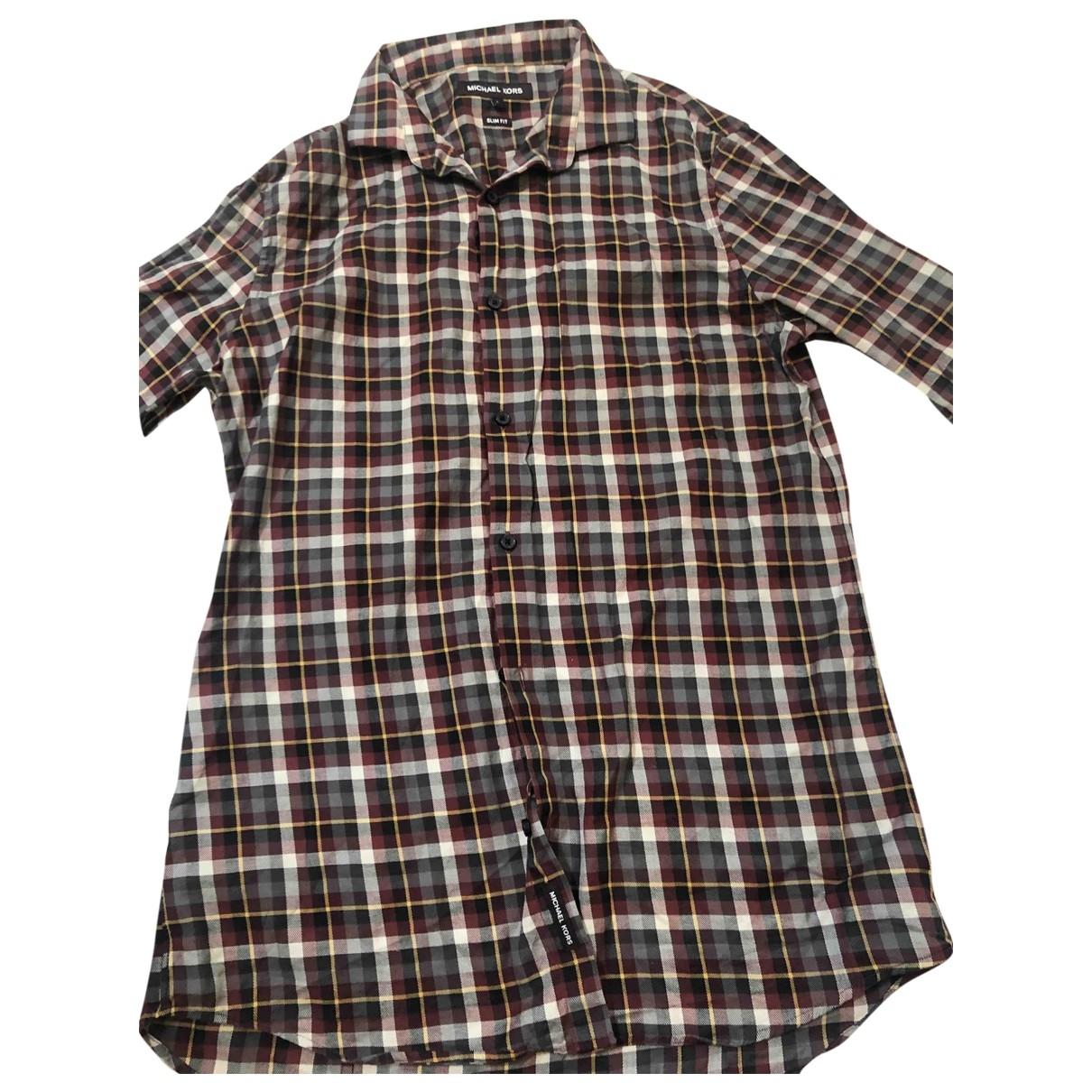 Michael Kors \N Multicolour Cotton Shirts for Men S International