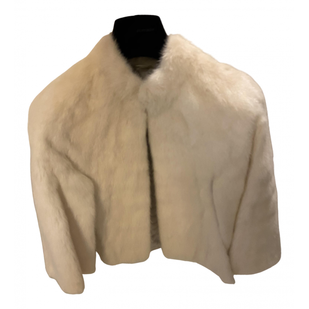 Non Signé / Unsigned N White Mink jacket for Women 42 IT