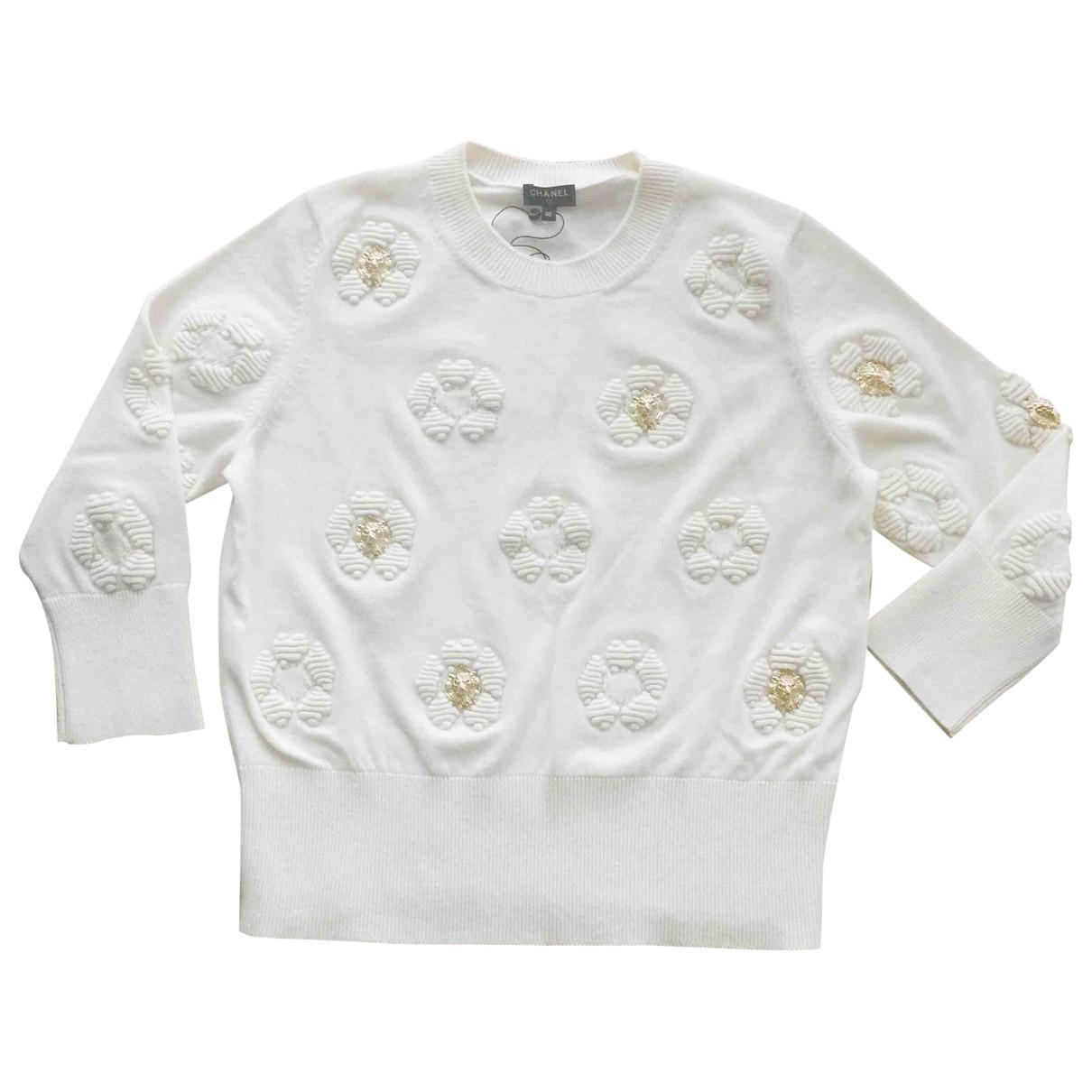 Chanel \N Ecru Cashmere Knitwear for Women 40 FR