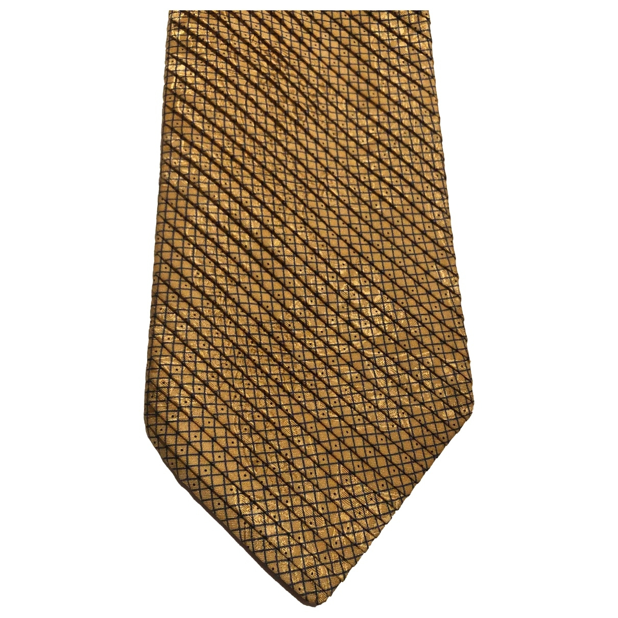 Stefano Ricci \N Gold Silk Ties for Men \N