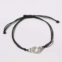 Handcuffs Decor Bracelet