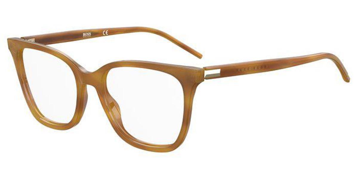 Boss by Hugo Boss Boss 1207 C9B Women's Glasses Tortoise Size 52 - Free Lenses - HSA/FSA Insurance - Blue Light Block Available